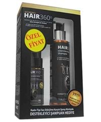 Hair 360 Womens Sprey 50ml + İntensive Hair Loss Shampoo 150 ml